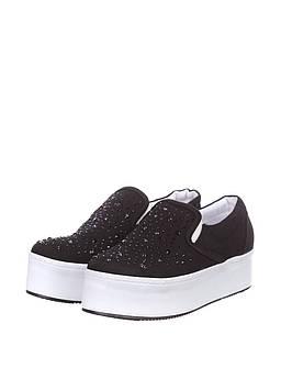 Слипоны B&C Fashion 36 черный (ZA-ES-210_Black)
