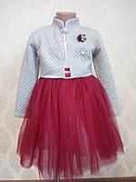 Детское платье с болеро  для девочки, фото 1