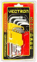 Набір ключів Vectron 1,5-10 мм 51-2-109