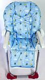 Односторонний чехол на стульчик для кормления Chicco Polly, фото 9