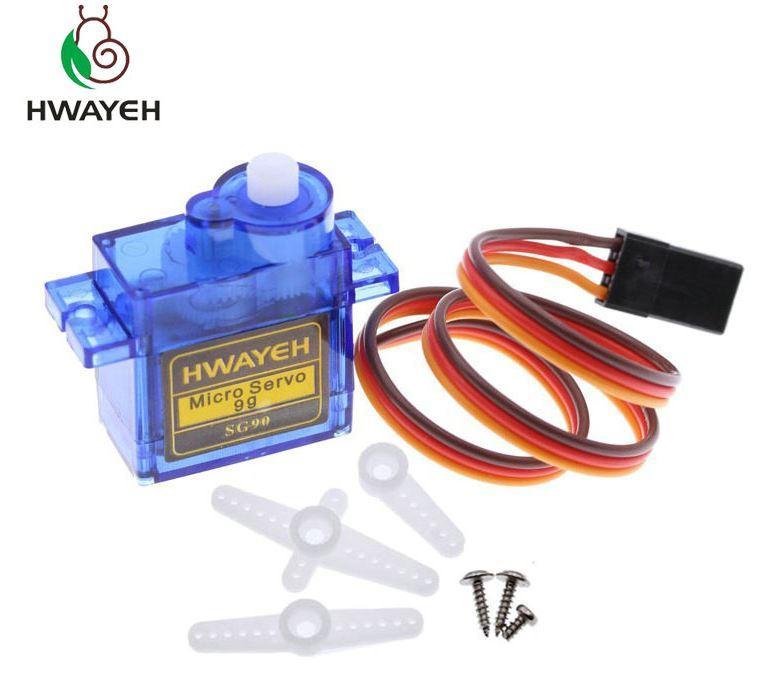 Сервопривод HWAYEH SG90 1,6 кг для Р/У и Arduino