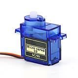 Сервопривод HWAYEH SG90 1,6 кг для Р/У и Arduino, фото 2