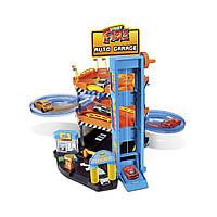 Игровой набор - ПАРКИНГ 3 УРОВНЯ + 2 машинки 1:43 для детей от 3 лет ТМ Bburago 18-30361