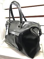 Женская сумка на две ручки кожа