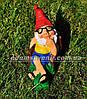 Садовая фигура Гномы малые на отдыхе, фото 5