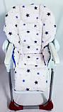 Односторонний чехол на стульчик для кормления Chicco Polly, фото 2
