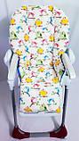 Односторонний чехол на стульчик для кормления Chicco Polly, фото 7