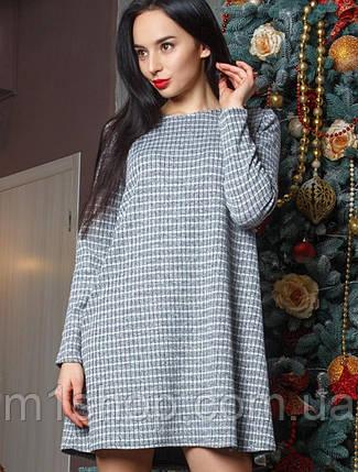 Женское свободное платье с люрексом (Аэлита mrb), фото 2