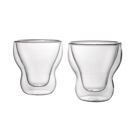 Комплект склянок з подвійним дном 115 мл Herisson (EZ-3010), фото 2