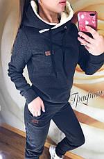 Костюм женский с меховым капюшоном, фото 3