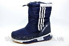 Спортивные сапоги в стиле Adidas, на меху, фото 3