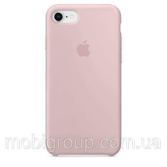 Чехол Silicone Case для iPhone 7/8, Pink Sand