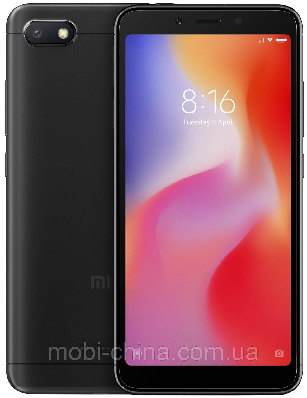 Смартфон Xiaomi Redmi 6A 32Gb Black EU