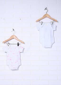 Комбинезон Prenatal 3-6 Months (62 см) белый, розовый (NN2659_Wpink)