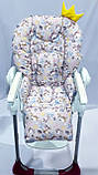 Односторонний чехол на стульчик для кормления Chicco Polly, фото 10