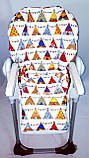 Односторонний чехол на стульчик для кормления Chicco Polly, фото 4