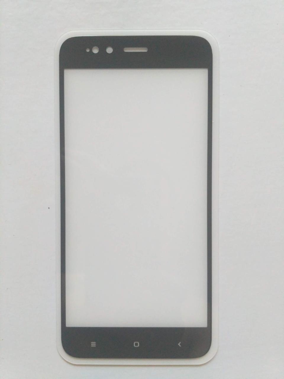 Стекло Mocolo Full Glue для Xiaomi Mi5x / Mi A1 с черной рамкой