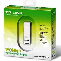 Беспроводный адаптер TP-Link TL-WN727N   150Mbps;USB adapter;Suport Sony PSP