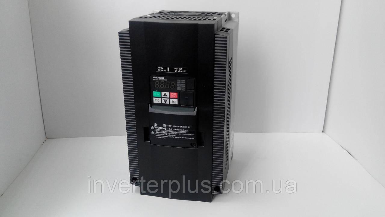 WJ200-075HF; 7,5кВт/380В. Преобразователь частоты Hitachi