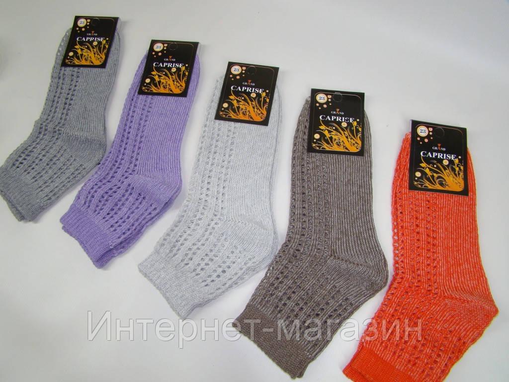 Женские ажурные носки Caprise Grand (размер 23) код 13107