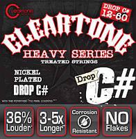Cтруни для електрогітари CLEARTONE 9460 ELECTRIC HEAVY SERIES DROP C# 12-60