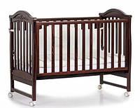 Детская кроватка Верес Соня ЛД 3 (орех)