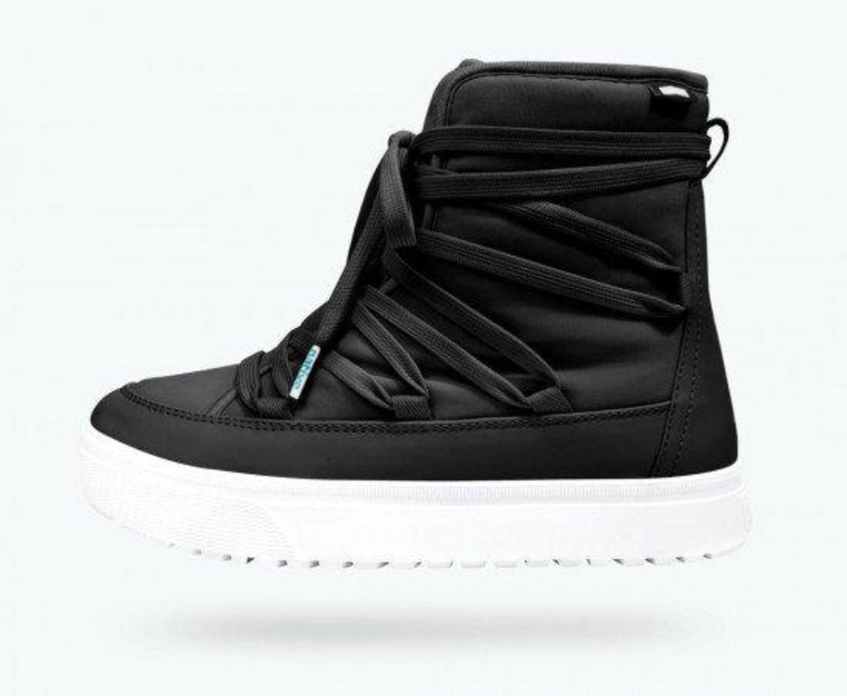 bb8d2ce1d968 Купить Оригинальные женские ботинки NATIVE CHAMONIX JIFFY BLACK/SHELL WHITE  в Днепре от компании ...