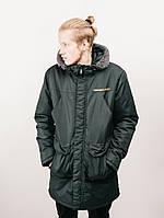 Парка Urban Planet S2 GRN чоловіча куртка зимова зелена L