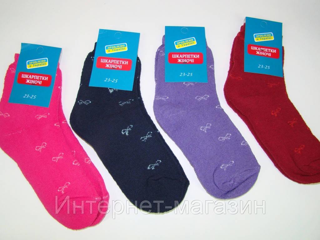 Женские махровые носки (размер 23-25) код 13110