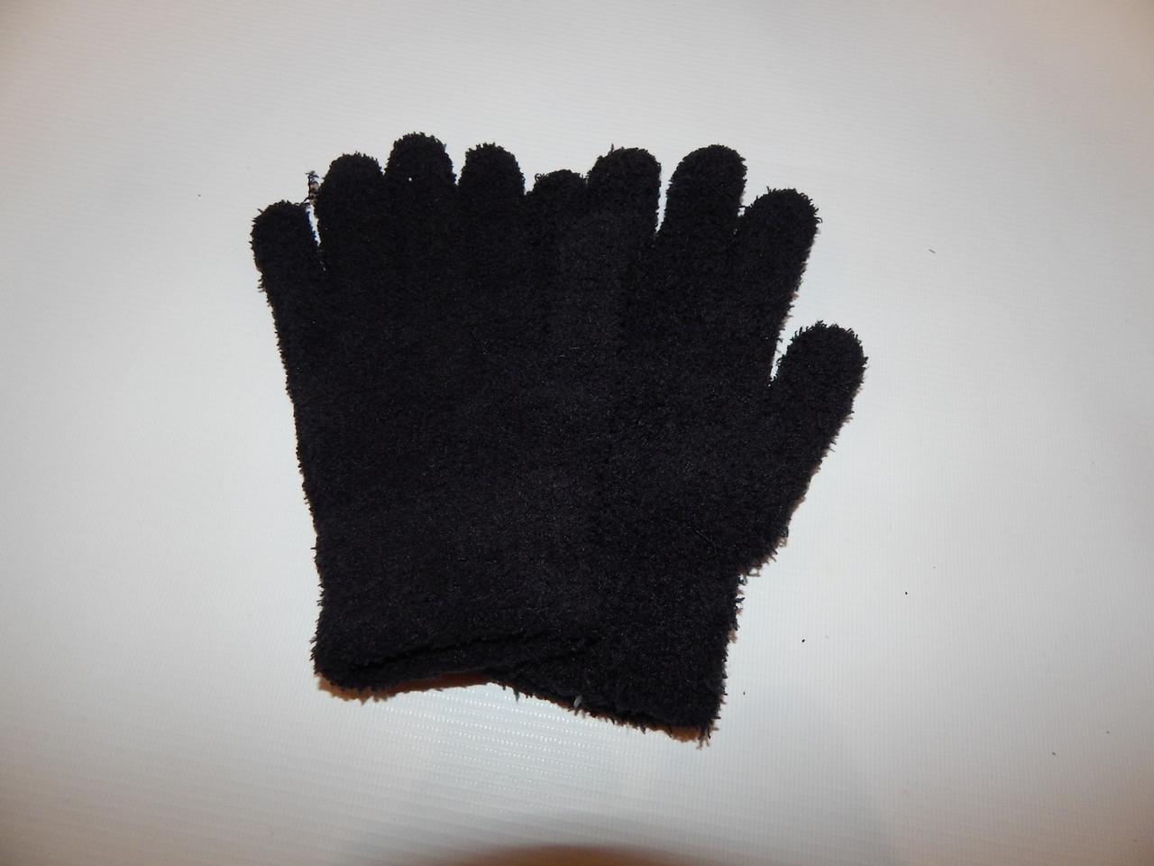 Перчатки подросток трикотажные теплые  р.M-L (6) 019DDP