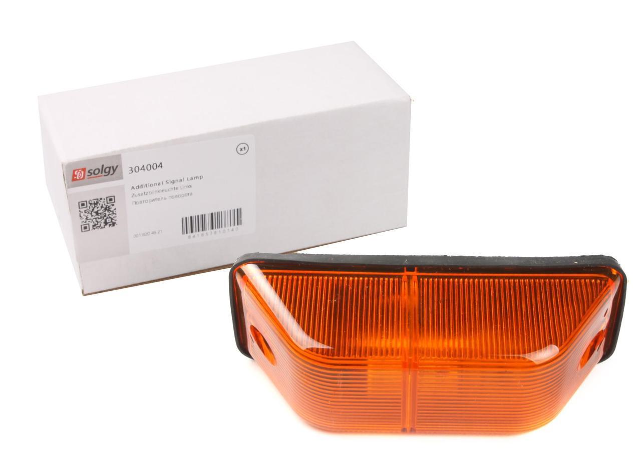 Повторитель поворота на крыло MB Sprinter 00- (желтый) (304004) SOLGY