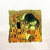 Основа для вишивки і декору Декупаж по текстилю Клімт 011, 31*25см
