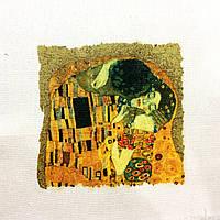 Основа для вишивки і декору Декупаж по текстилю Клімт 011, 31*25см, фото 1