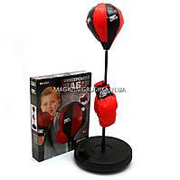 Детский набор для бокса Напольная груша на стойке + боксерские перчатки. Альтернатива подвесному мешку MS 0331
