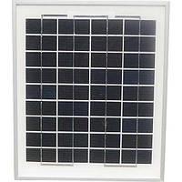 Солнечная батарея (панель) 10Вт  12В поликристаллическая