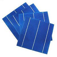 Солнечный элемент 3,9Вт, КПД 16%, 156х156мм(6 дюймов) , поликристаллический