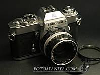 Плівкова фотокамера Nikomat EL kit Nikkor-H 50mm f2.0, фото 1