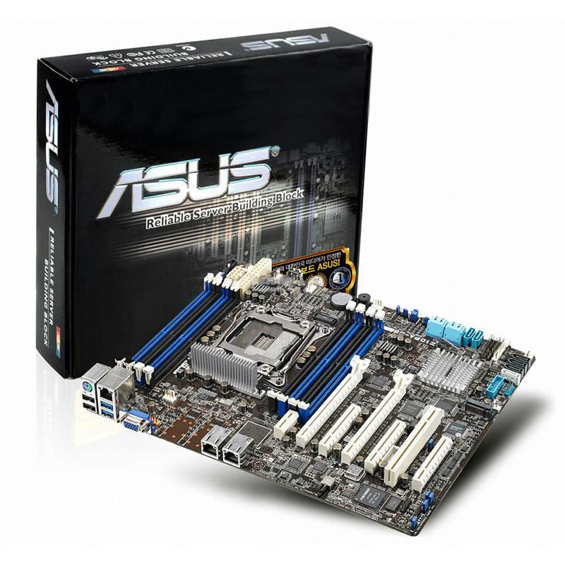 "Материнская плата Asus Z10PA-U8 Socket 2011-3 Intel C612 DDR4 ""Over-Stock"" Б/У"