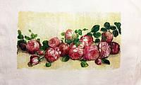 Основа для вышивки и декора Декупаж по текстилю Розы 004, 44*29см