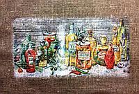 Основа для вышивки и декора Декупаж по текстилю Баночки 003, 39*28см