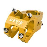 Винос керма Wake Techno 31,8 x 40 мм, золотий