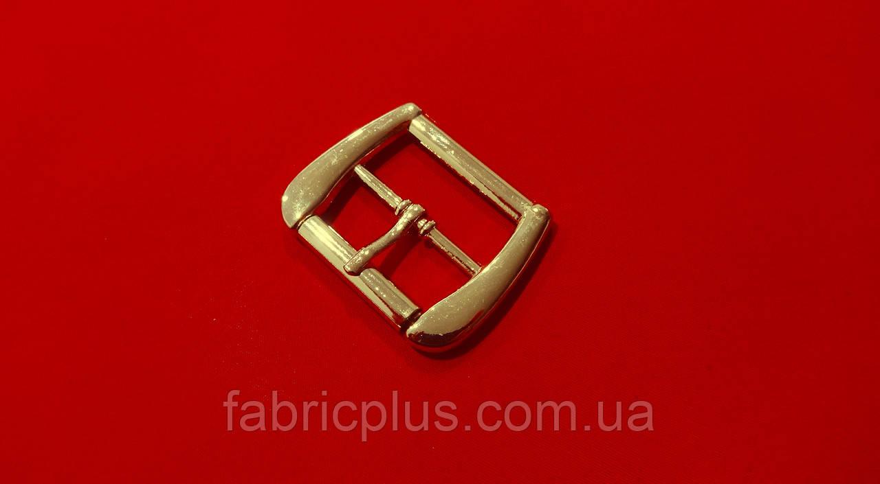 Металева Пряжка 26 мм золото