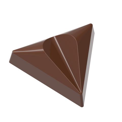 """Форма для шоколада """"Пралине Руби"""" 39,5x34,5 H 13,5 мм, 21 шт x 8,5 gr"""