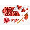 """Форма для шоколада """"Пралине Руби"""" 39,5x34,5 H 13,5 мм, 21 шт x 8,5 gr, фото 3"""
