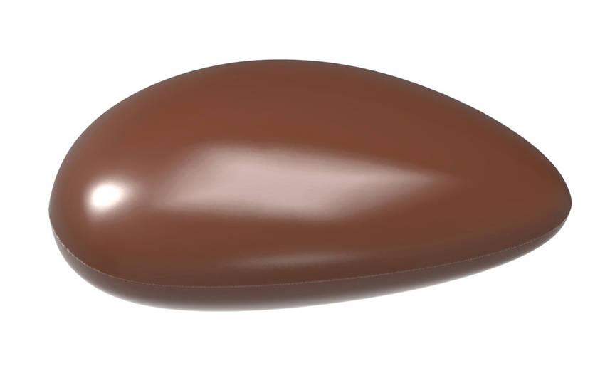 """Форма для шоколада """"Галька"""" 39x34x7 mm, 18 шт x 5,5 gr"""