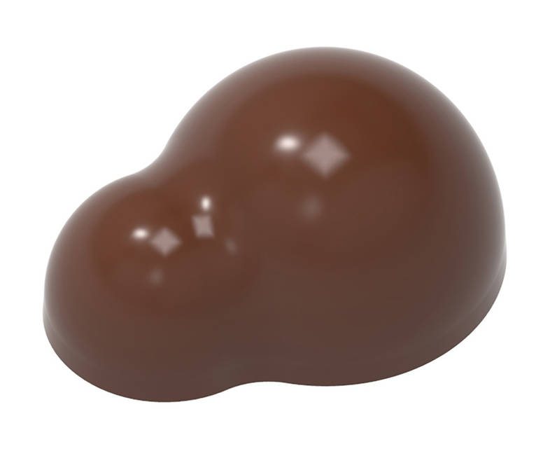 """Форма для шоколада """"Андрей Дубовик"""" 36,50x27,50x16,5 mm, 21 шт x 10,5 gr"""