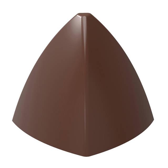 """Форма для шоколада """"Пирамида"""" 31x31 H 26,5 мм, 21 шт x 9,5 gr"""