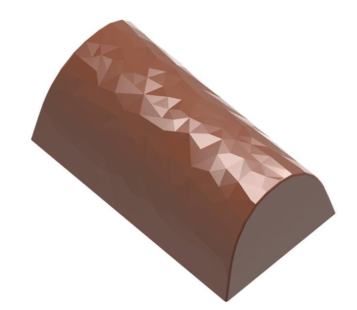 """Форма для шоколада """"Бюш з гранями"""" 36x20x15, 9,5 gr x24 шт"""