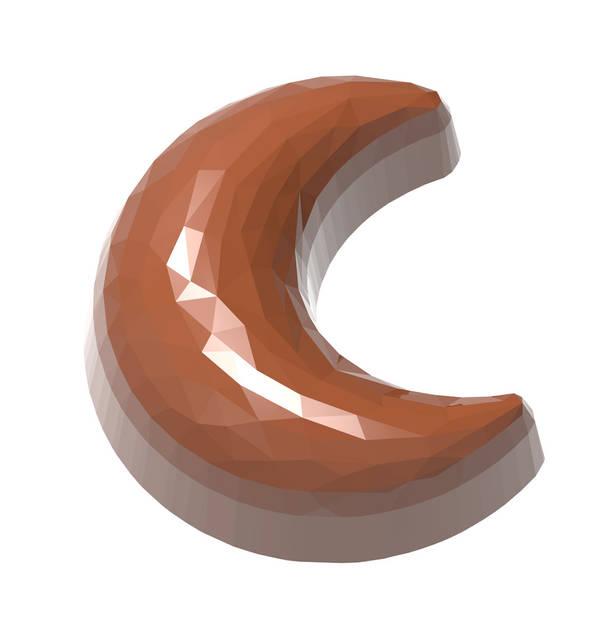 """Форма для шоколада """"Луна с гранями"""" 35x31x16,5, 11 gr x21 шт"""