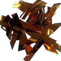 Конфетти мишура золото 100г
